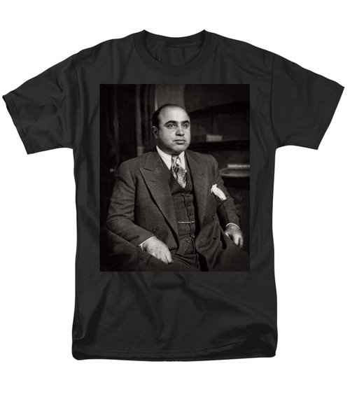 Al Capone - Scarface Men's T-Shirt  (Regular Fit) by Doc Braham