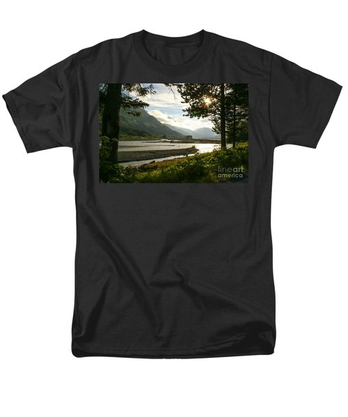Alaskan Valley Men's T-Shirt  (Regular Fit) by Jennifer White