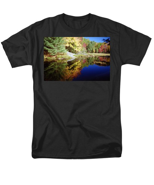 Algonquin Reflection Men's T-Shirt  (Regular Fit) by David Porteus