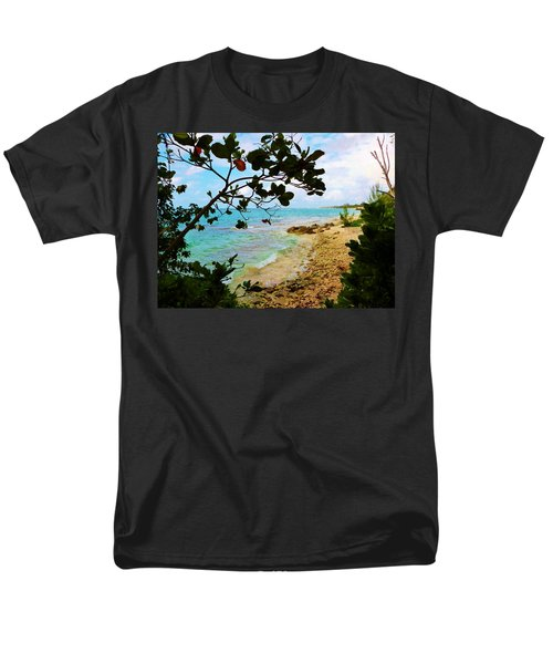 Men's T-Shirt  (Regular Fit) featuring the photograph Almond View by Amar Sheow