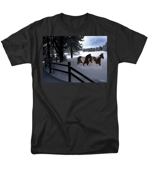 Almost Christmas Men's T-Shirt  (Regular Fit) by Bill Stephens