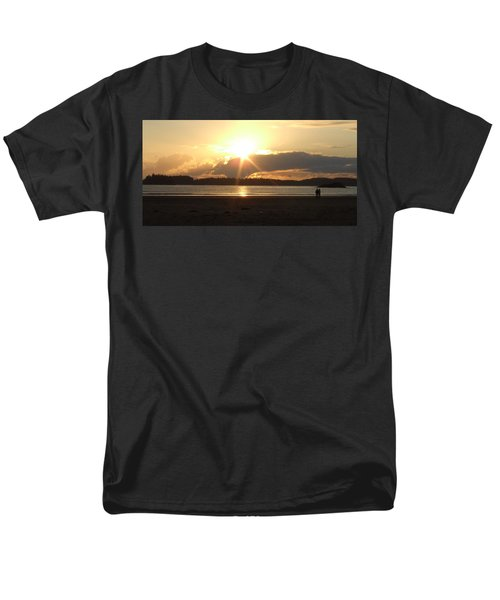 Men's T-Shirt  (Regular Fit) featuring the photograph Almost Sundown by Mark Alan Perry