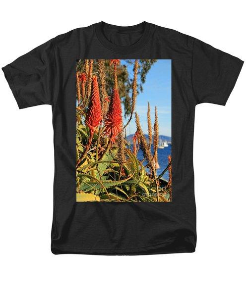 Aloe Vera Bloom Men's T-Shirt  (Regular Fit) by Mariola Bitner