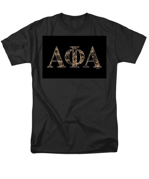 Alpha Phi Alpha - Black Men's T-Shirt  (Regular Fit) by Stephen Younts