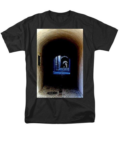 Altered Arch Walkway Men's T-Shirt  (Regular Fit) by Richard Rosenshein