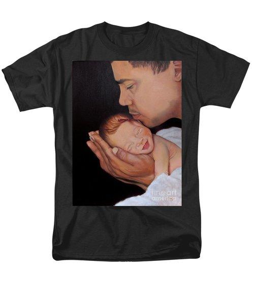 Always In His Heart And In His Hands Men's T-Shirt  (Regular Fit)