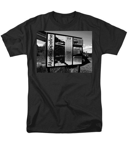 Alyeska Pipeline Men's T-Shirt  (Regular Fit) by Juergen Weiss