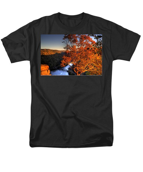 Men's T-Shirt  (Regular Fit) featuring the photograph Amazing Tree At Overlook by Jonny D