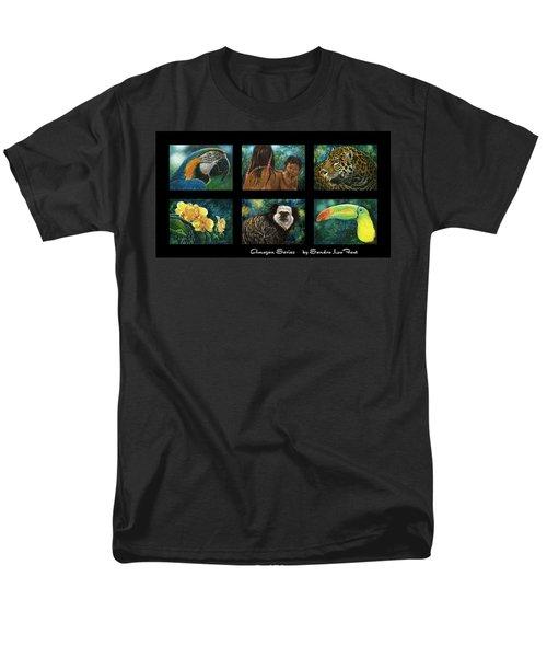 Amazon Series Collage Men's T-Shirt  (Regular Fit) by Sandra LaFaut