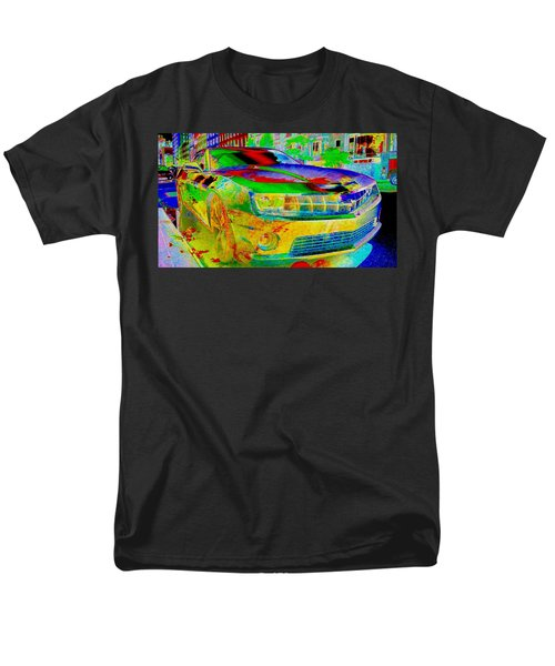 Men's T-Shirt  (Regular Fit) featuring the mixed media American Dream by Rogerio Mariani