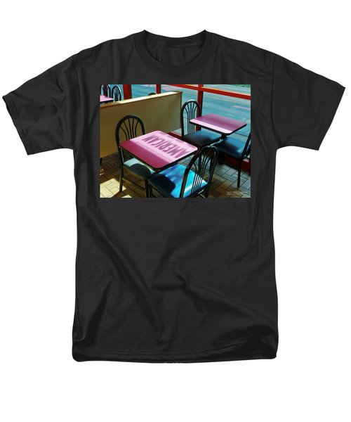 Men's T-Shirt  (Regular Fit) featuring the photograph American Fast Food by David Perry Lawrence