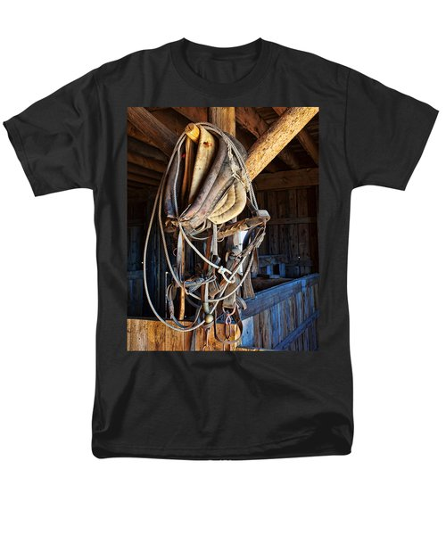 Men's T-Shirt  (Regular Fit) featuring the photograph American History by Jim Garrison