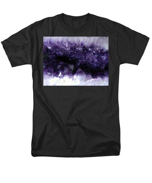 Amethyst Geode Men's T-Shirt  (Regular Fit) by Amar Sheow