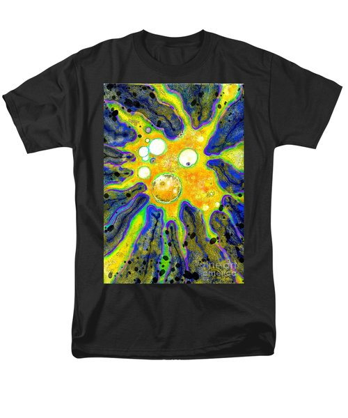 Men's T-Shirt  (Regular Fit) featuring the painting Amoeba Senescent by Carol Jacobs