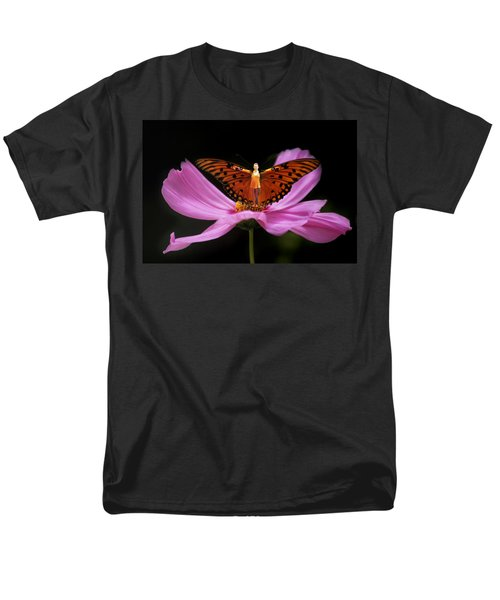 Men's T-Shirt  (Regular Fit) featuring the photograph Amy The Butterfly by Susan Rovira