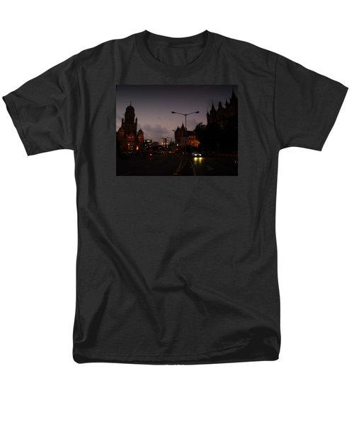 Men's T-Shirt  (Regular Fit) featuring the photograph Mumbai by Salman Ravish