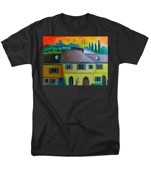 Ancient Volterra Wired Men's T-Shirt  (Regular Fit) by Victoria Lakes