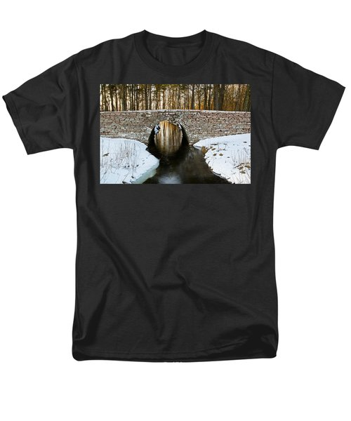Ancient Bridge Men's T-Shirt  (Regular Fit) by Kennerth and Birgitta Kullman
