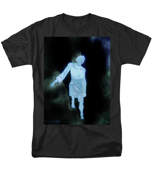 Men's T-Shirt  (Regular Fit) featuring the photograph Oh That I Were An Angel  by Larry Campbell