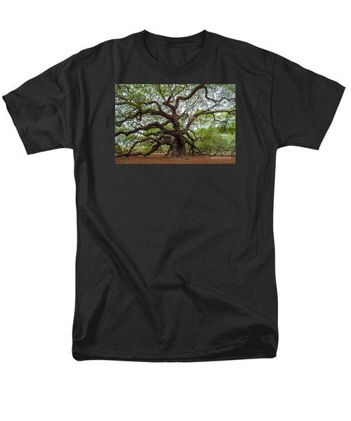 Angel Oak Tree Men's T-Shirt  (Regular Fit) by Dale Powell