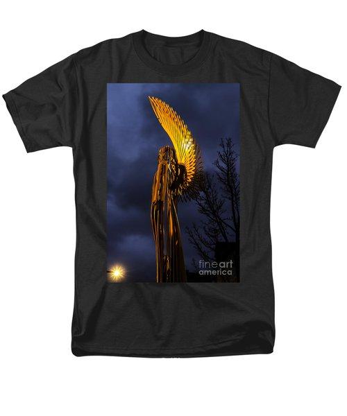 Angel Of The Morning Men's T-Shirt  (Regular Fit) by Steve Purnell