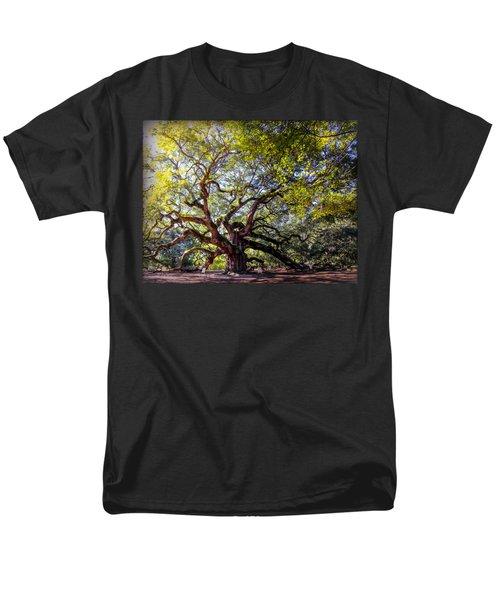 Angel Of Time Men's T-Shirt  (Regular Fit) by Karen Wiles