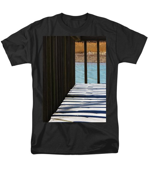 Men's T-Shirt  (Regular Fit) featuring the photograph Angles And Shadows by Shawna Rowe