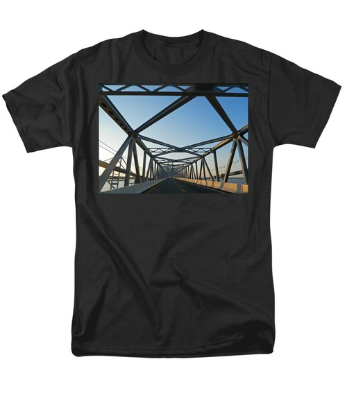 Annapolis Bay Bridge At Sunrise Men's T-Shirt  (Regular Fit) by Emmy Marie Vickers