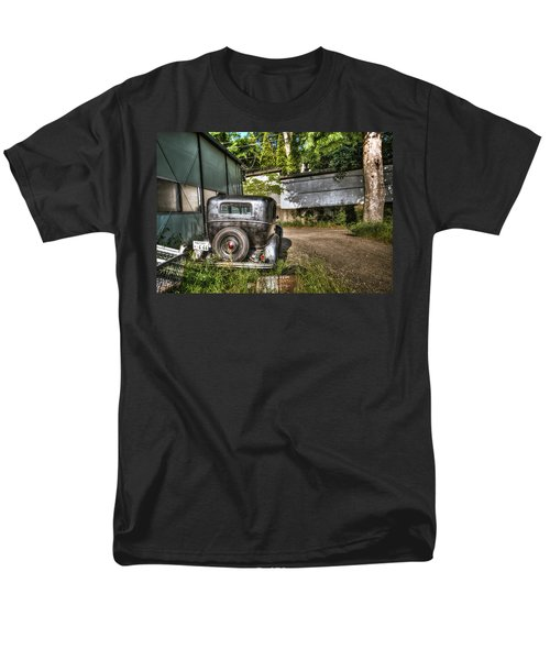 Antichrist Model T Men's T-Shirt  (Regular Fit) by John Swartz