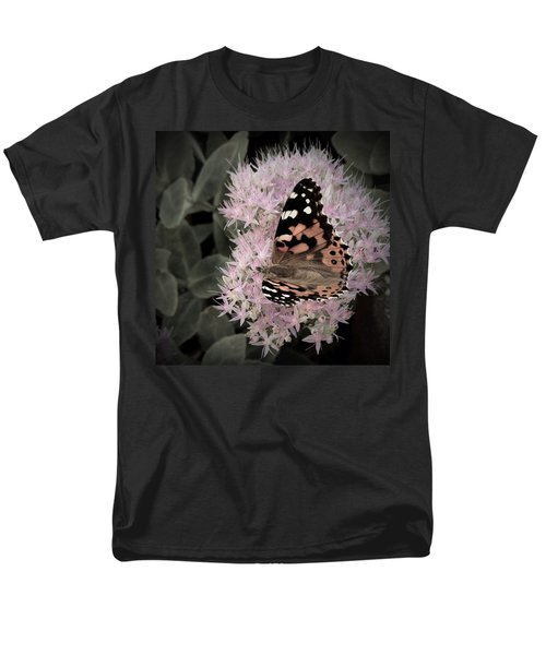 Men's T-Shirt  (Regular Fit) featuring the photograph Antique Monarch by Photographic Arts And Design Studio