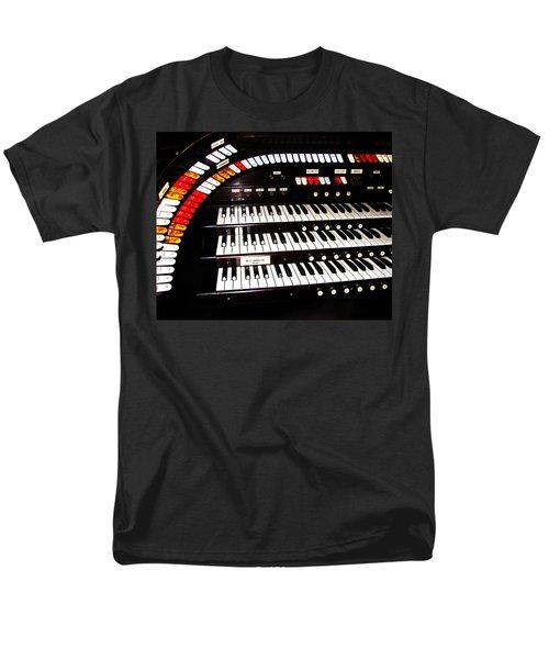 Men's T-Shirt  (Regular Fit) featuring the photograph Antique Organ by Marcia Socolik