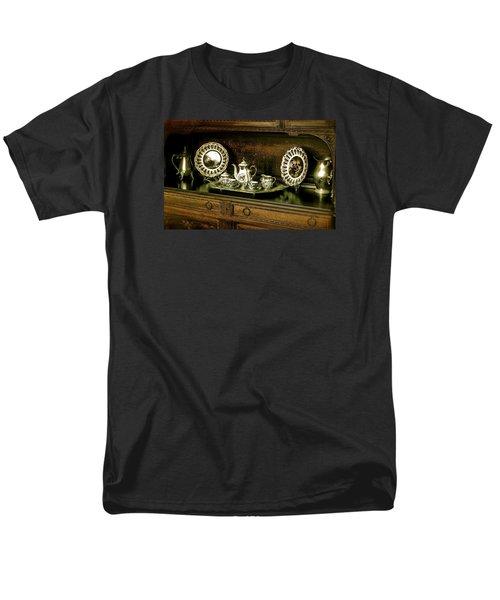 Antique Tea Set Men's T-Shirt  (Regular Fit) by The Art of Alice Terrill