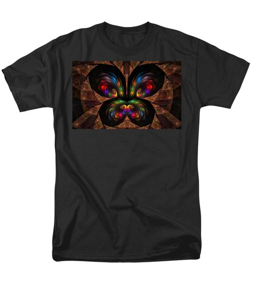 Men's T-Shirt  (Regular Fit) featuring the digital art Apo Butterfly by GJ Blackman