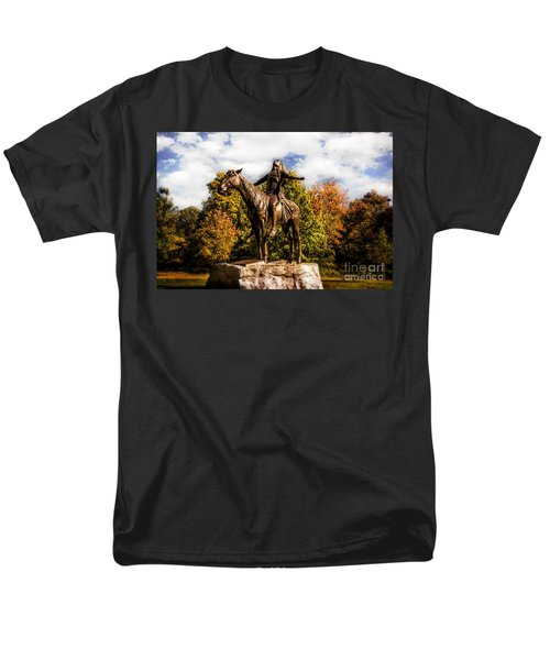 Appeal To The Great Spirit Men's T-Shirt  (Regular Fit) by Tamyra Ayles