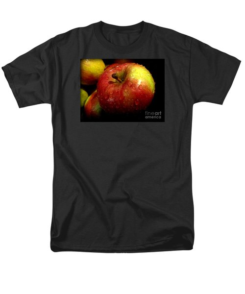 Apple In The Rain Men's T-Shirt  (Regular Fit) by Miriam Danar