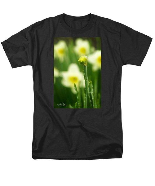 Men's T-Shirt  (Regular Fit) featuring the photograph April Showers by Joan Davis