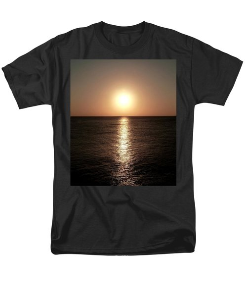 Men's T-Shirt  (Regular Fit) featuring the photograph April Sunset by Amar Sheow
