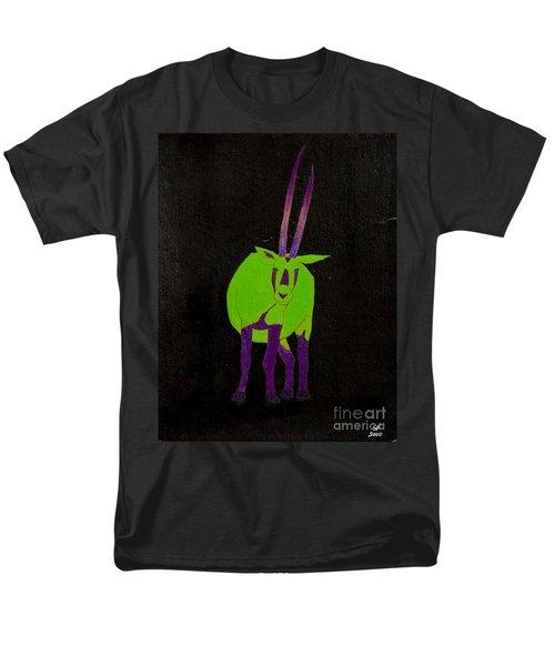 Arabian Oryx Men's T-Shirt  (Regular Fit) by Stefanie Forck