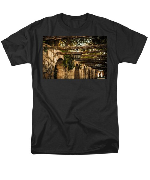 Arches At The Alamo Men's T-Shirt  (Regular Fit) by Melinda Ledsome
