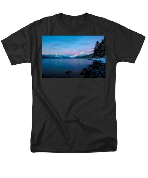 Men's T-Shirt  (Regular Fit) featuring the photograph Arctic Slumber by Aaron Aldrich