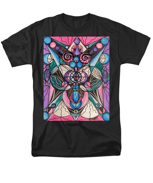 Arcturian Healing Lattice  Men's T-Shirt  (Regular Fit)