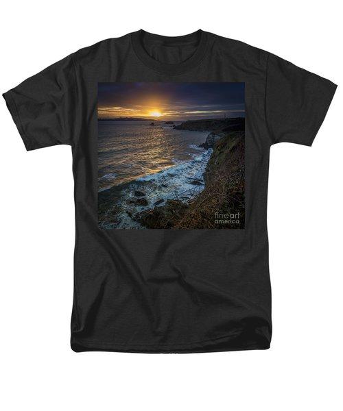 Ares Estuary Mouth Galicia Spain Men's T-Shirt  (Regular Fit) by Pablo Avanzini