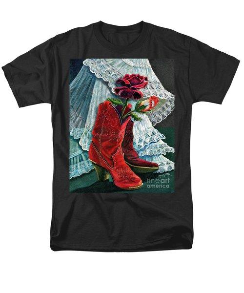 Arizona Rose Men's T-Shirt  (Regular Fit) by Marilyn Smith