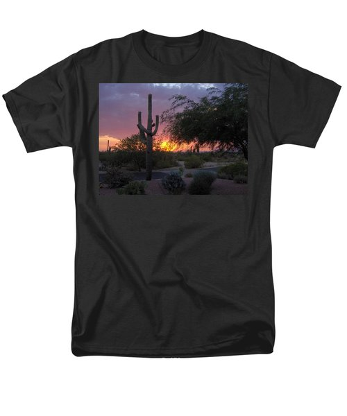 Arizona Sunset Men's T-Shirt  (Regular Fit) by Catherine Swerediuk