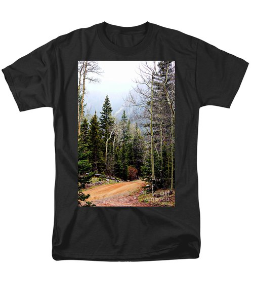 Around The Bend Men's T-Shirt  (Regular Fit) by Barbara Chichester