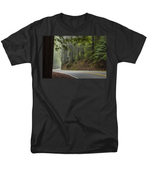 Around The Bend Men's T-Shirt  (Regular Fit) by Dustin  LeFevre