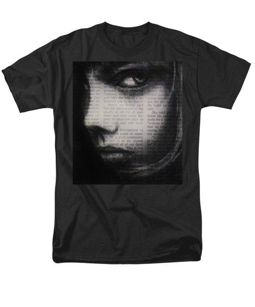 Art In The News 9 Men's T-Shirt  (Regular Fit) by Michael Cross