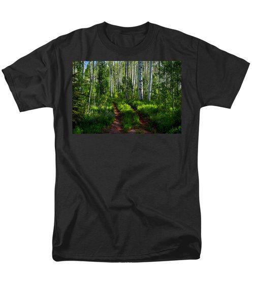 Aspen Lane Men's T-Shirt  (Regular Fit) by Jeremy Rhoades