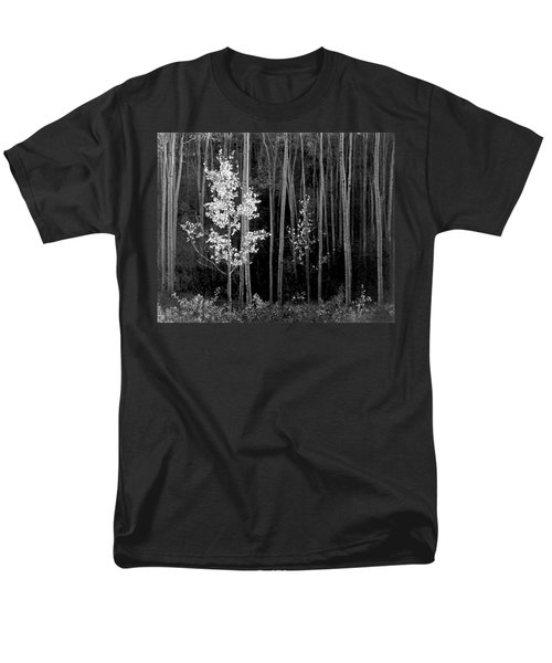 Aspens Northern New Mexico Men's T-Shirt  (Regular Fit) by Ansel Adams