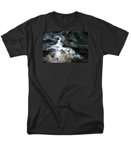 Men's T-Shirt  (Regular Fit) featuring the photograph At Coos Canyon by Joy Nichols
